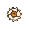 KCNC Jockey Wheel 11T SS Bearing gold